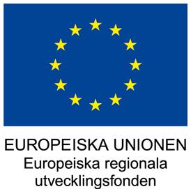 Logo: Europeiska unionen - Europeiska regionala utvecklingsfonden