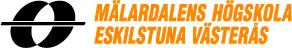 Logo: Mälardalens högskola Eskilstuna Västerås