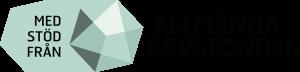 Logotyp: Med stöd från Allmänna Arvsfonden