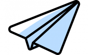 Ett pappersflygplan som illustrerar att prototypa