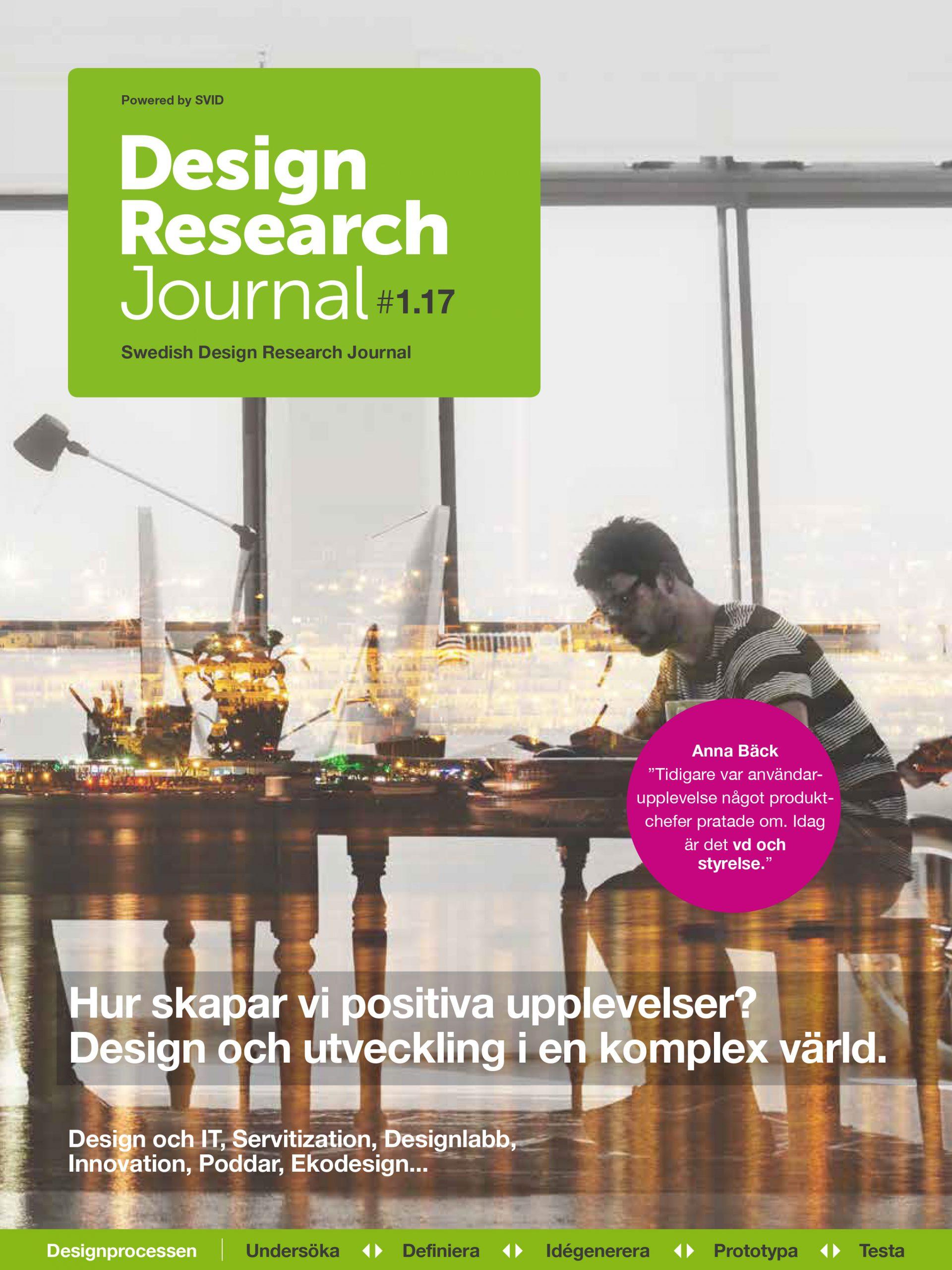 Swedish Design Research Journal