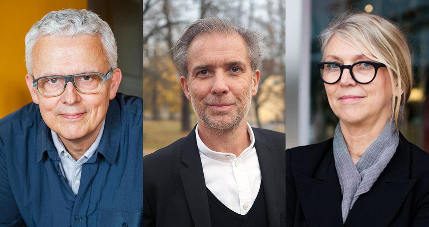 Mats Widbom, vd Svensk Form, Jonas Olsson, vd SVID, Stiftelsen Svensk Industridesign, Lotta Ahlvar, ordförande Design Sweden