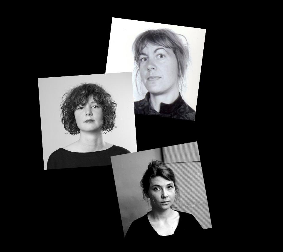 Bild på Sanna Bodén, Karolina Westenhoff och Jenny Stefansdotter Stentoft.