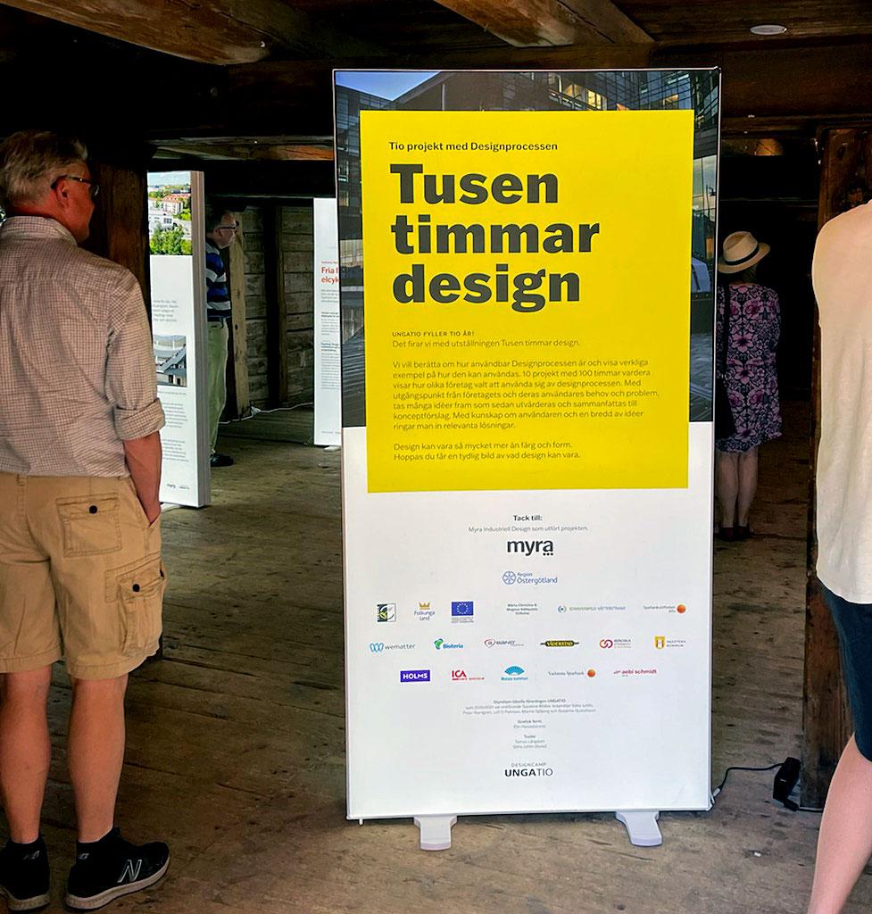 Tusen timmar design - utställningen